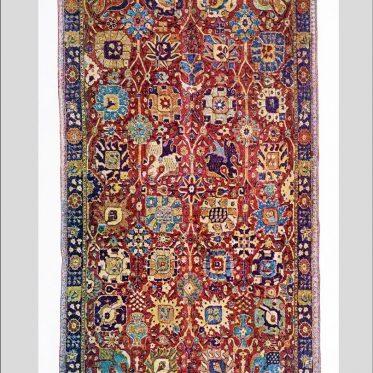 Antique, Shah Abbas, Ispahan, Persian, Vase, Carpet,