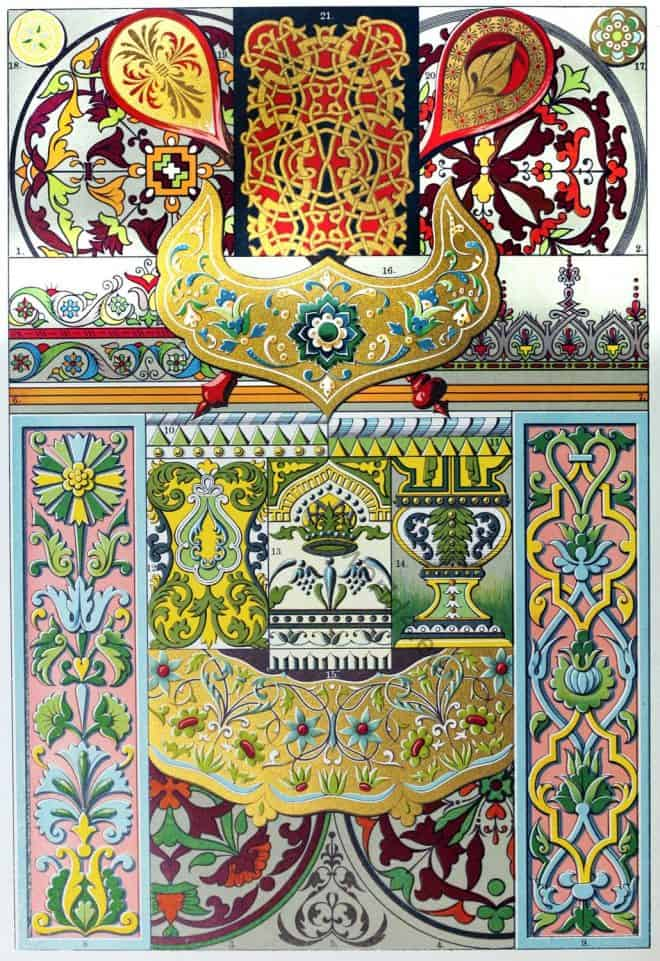 Ornamental, Russian Enamel, Majolica, Paintings, Walls, Ceilings ,
