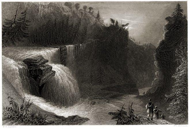 Trenton, Falls, Scenery, West Canada Creek,