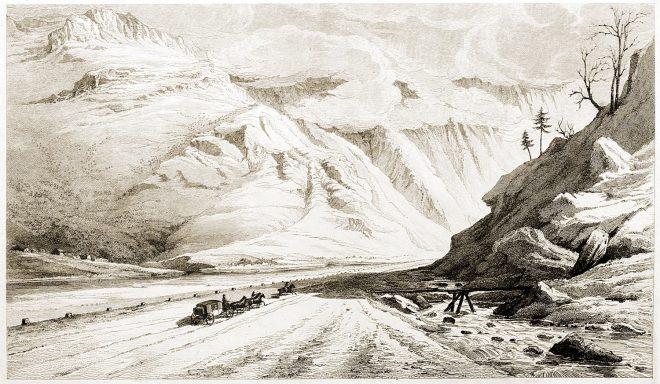Aiguebelle, Savoie, Ascent, Mount Cenis, Travel, Grand Tour,
