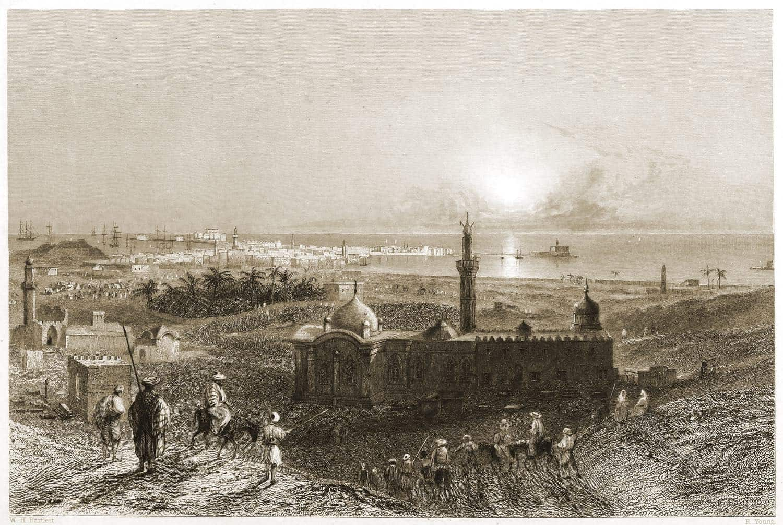 Alexandria, Egypt, Historical, city view,
