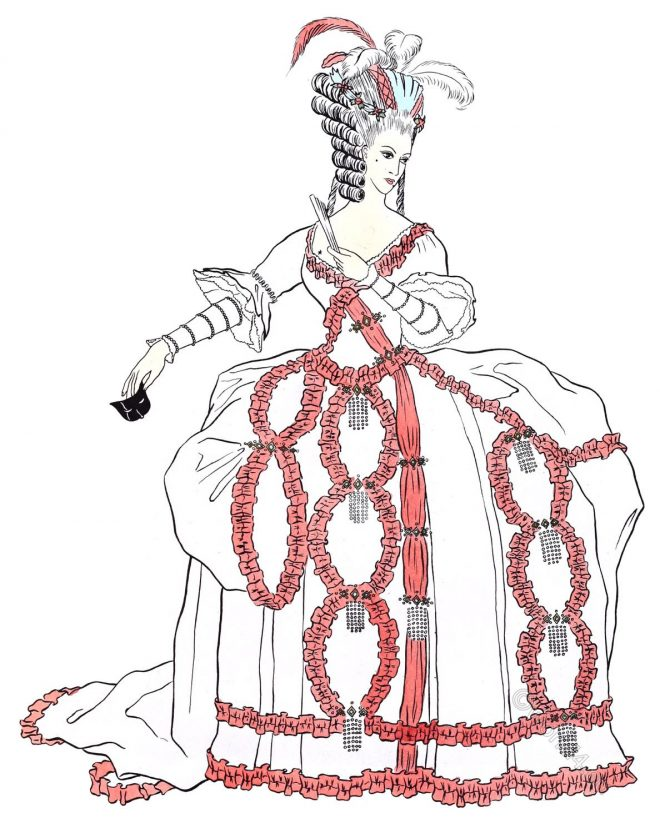 Ballroom, costume, Louis XVI, Rococo,