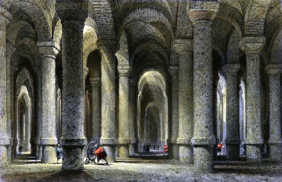 Bin-bir-derek, Cistern, Istanbul, Constantinople, Byzanz, Architecture,