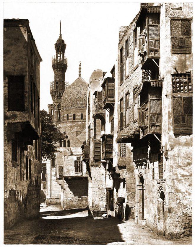 Cairo, Al Azhar Mosque, Egypt, Street, Scene,