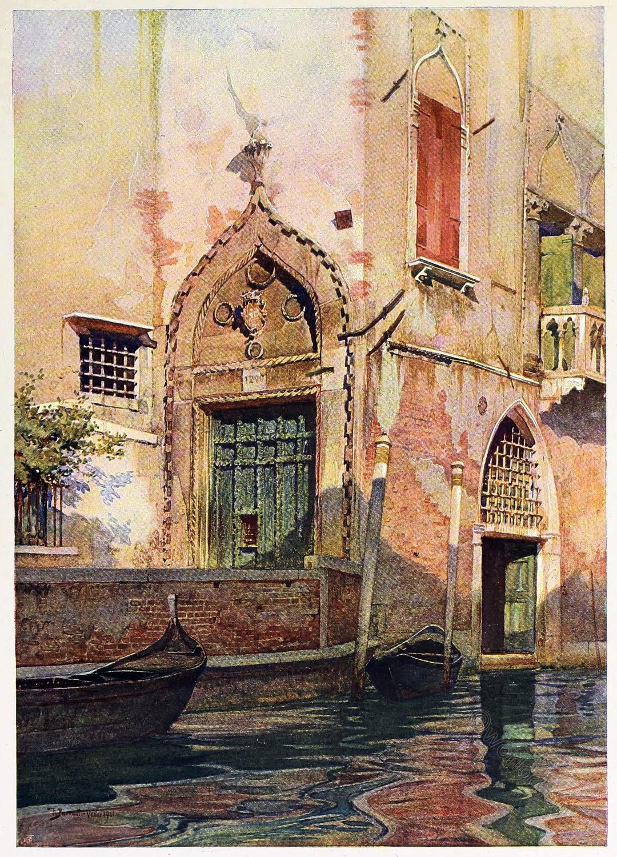 Reginald Barrat, Painter, Palazzo, Sanudo, Canal, Venice,