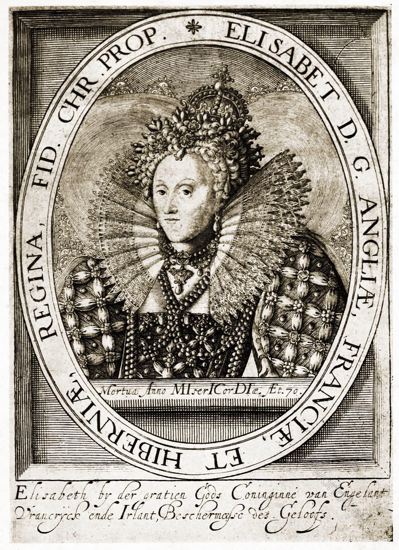 Elizabeth I, Queen, England, Ireland.