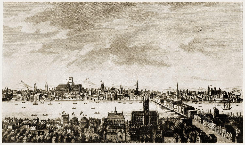 General, view, London, Thornton, 18th, century,