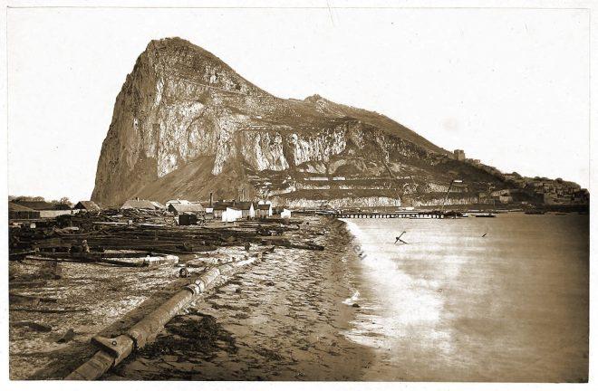 Rock, Gibraltar,