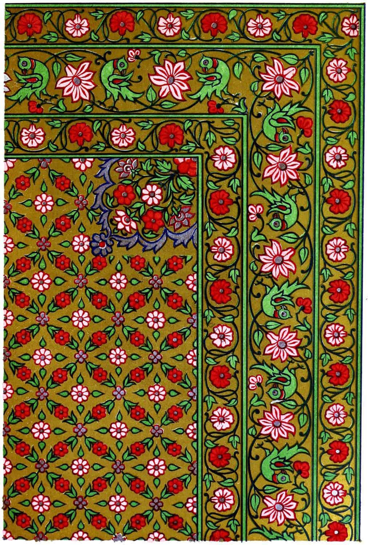 Hindu, Prayer-Carpet, Ahmedabad, India, textile, fabrics,