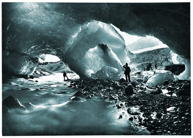 Alpine, Ice, Cavern, Switzerland, Grotto