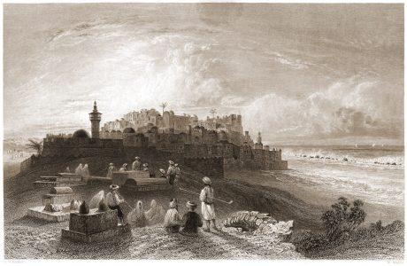 Jaffa, Joppa, cemetery, historical, city view, Israel,