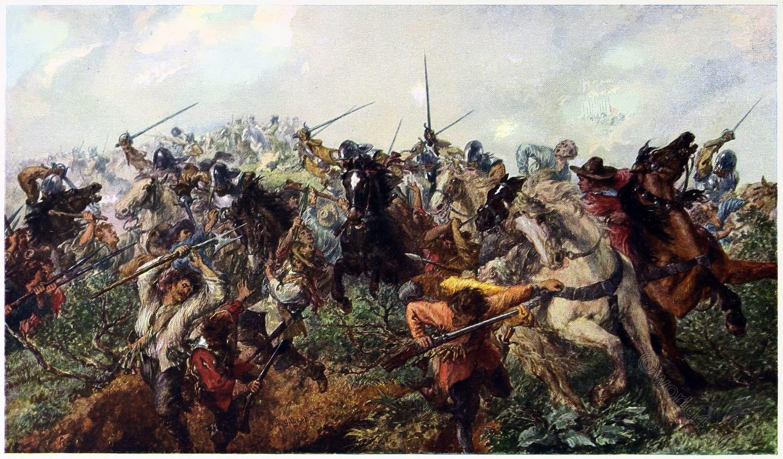 English, Civil War, Marston, Moor, Battle, Military, Art,