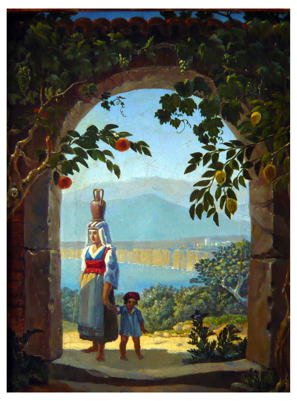 Memory, Sorrento, Italy, painting,