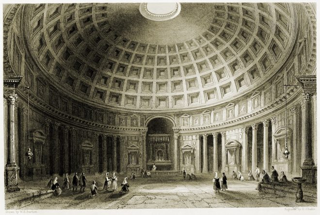 Rome, Pantheon, Tempel, Ancient, architecture,