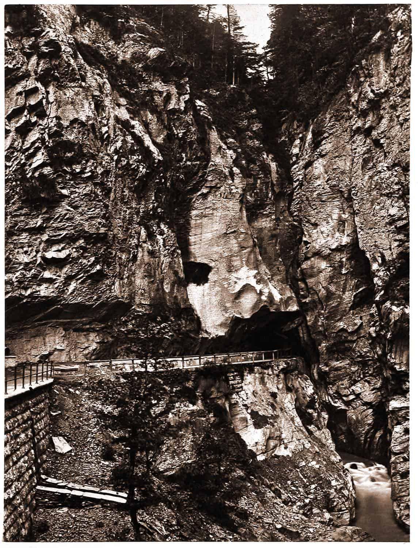 hot spring, thermal, Gorge, Pfäfers, Switzerland, Tamina,