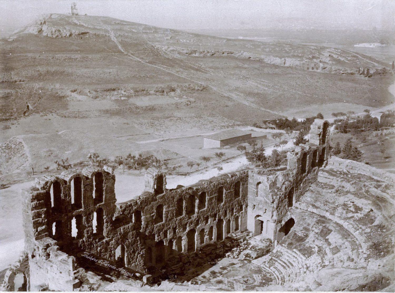 Acropolis, Odeio, Herodes, Atticus, Athen, Greece,