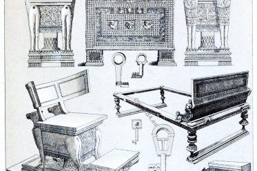 Rome, Furniture, Appliances, Antiquity, Pompeii, Herculanean,