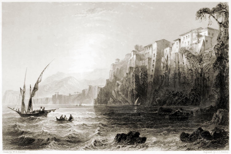 Sorrento, Italy, bay, Torquato, Tasso