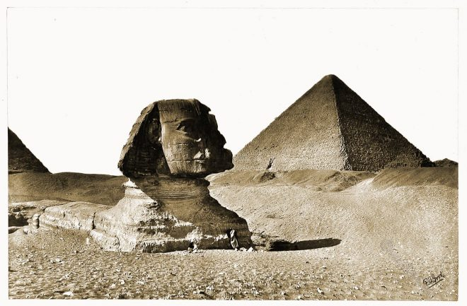 Great Pyramid, Sphinx, Gizeh, Egypt,