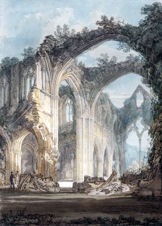 Turner, Tintern Abbey, Romaticism,