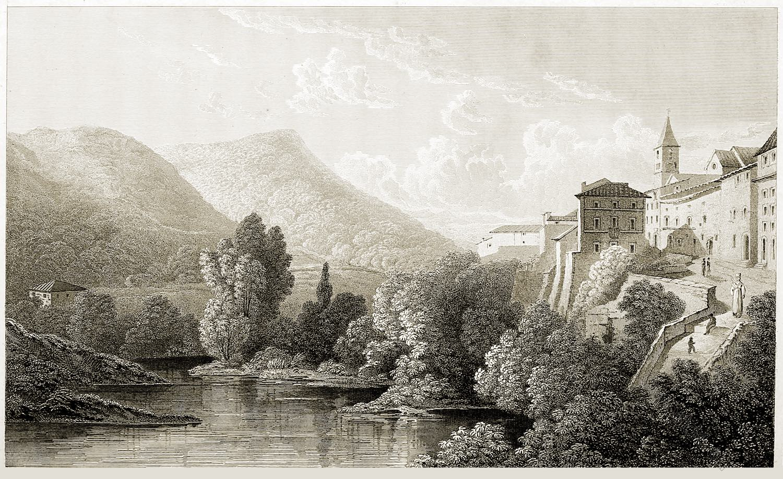 Teverone, Scene, Tivoli, Italy, Travel, Grand Tour,
