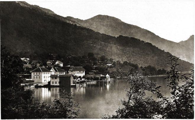 Weggis, Lake, Lucerne, Switzerland,