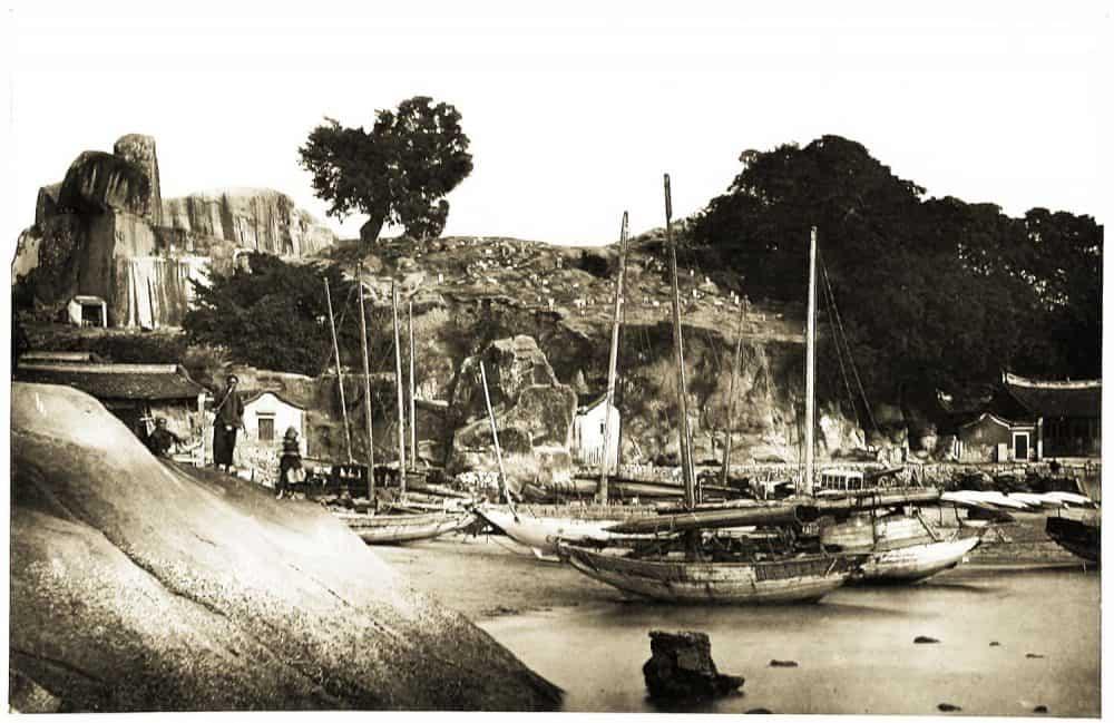 Xiamen, Amoy, harbor, Fujian, Province, China, Woodbury,