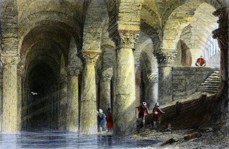 Yerebatan, Istanbul, Serail, Basilica, Cistern,