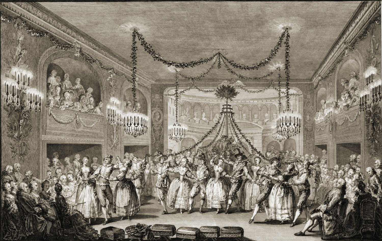 Versailles, bal, rococo, costumes, history, 17th century,