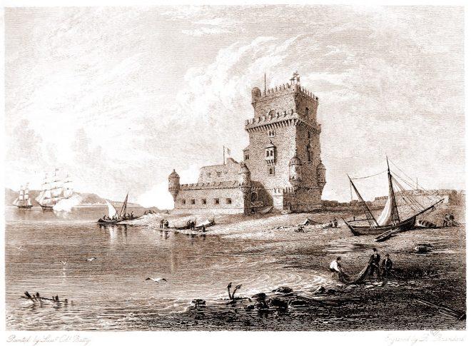 Lisbon, Torre, Belém, Tower, Saint, Vincent, landmark, Portugal,