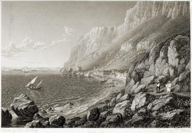 Gibraltar, Catalan, Bay, travel, View, Robert Batty,