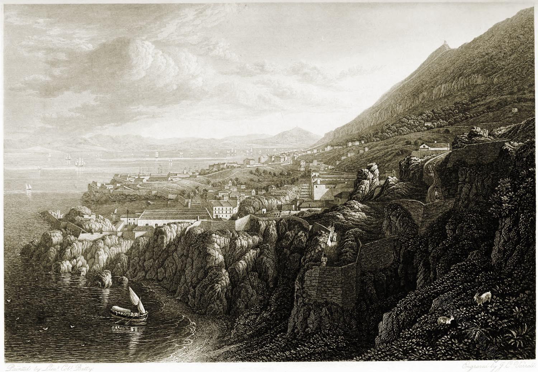 Gibraltar, Camp Bay, travel, View, Robert Batty,
