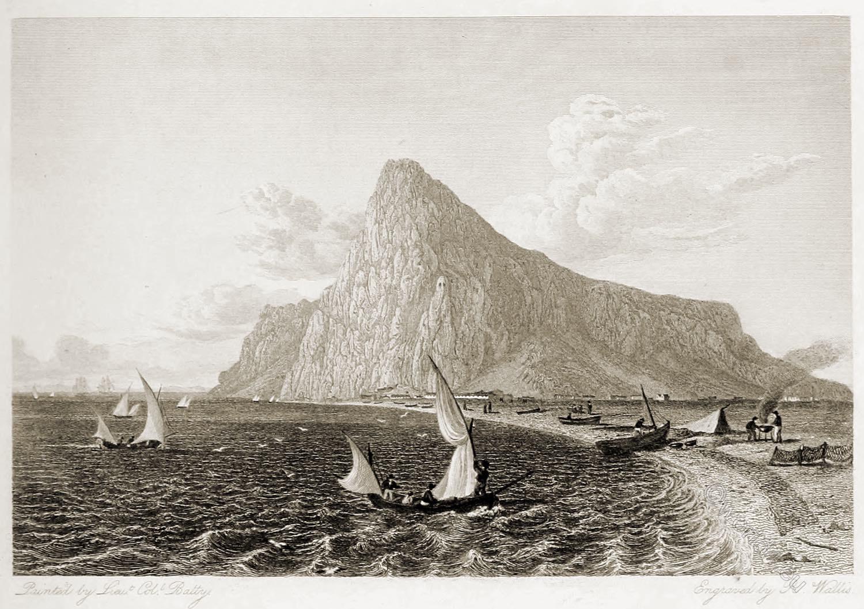 Gibraltar, Panorama, rock, travel, Robert Batty,
