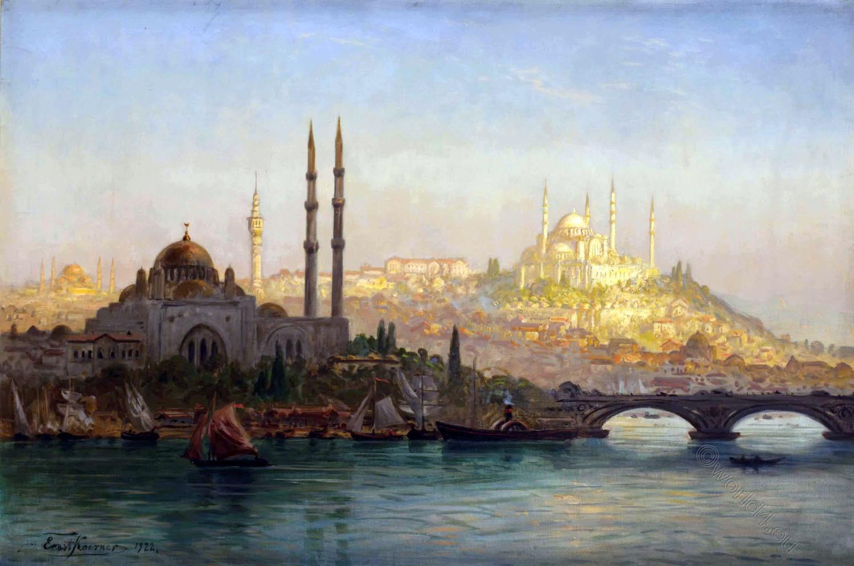 Koerner, Valide, Solimanie, Mosque, Istanbul, Turkey, Architecture, Islam,