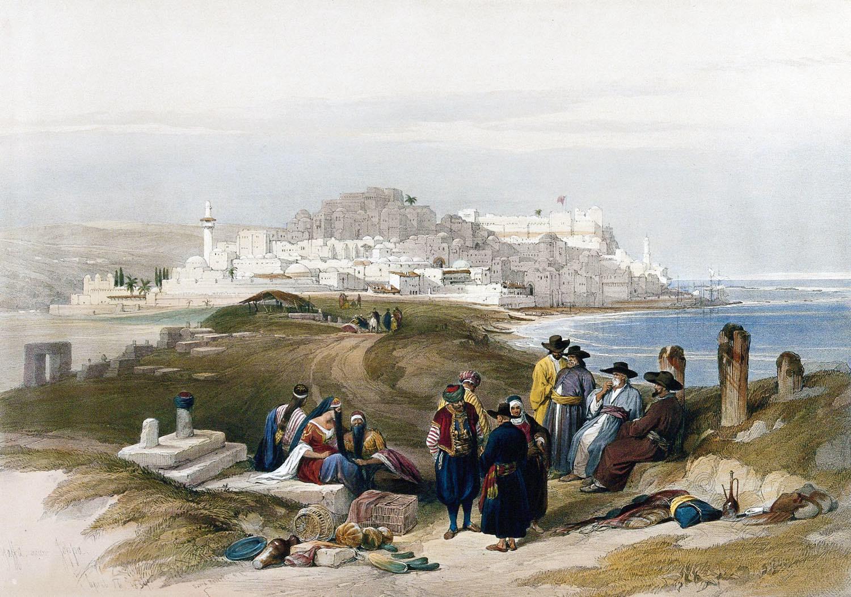 Jaffa, Joppa, Holy Land, Israel, David Roberts,