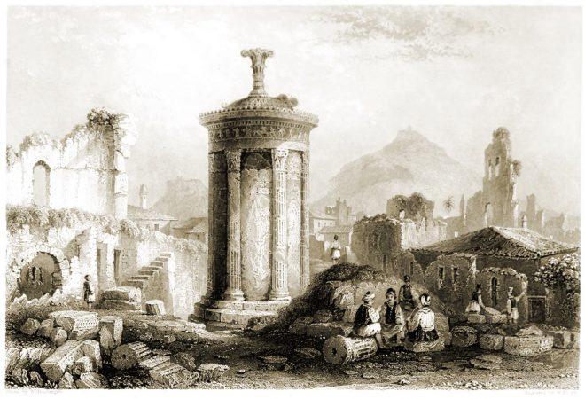 Choragic, Monument, Lysicrates, Lantern, Diogenes, Architecture, Antiquity, Greece,