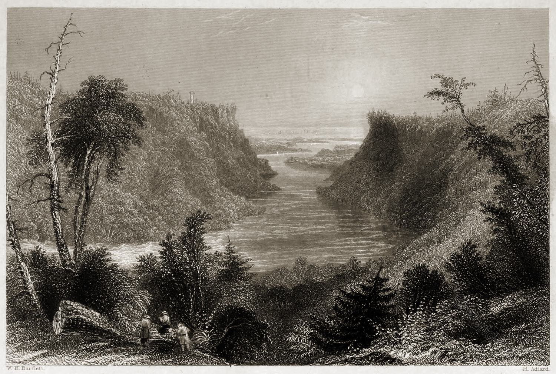 Outlet, Niagara, River, Lake, Ontario,
