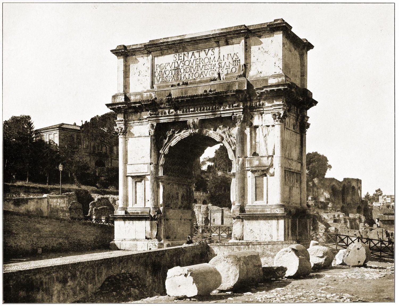 Arch, Titus, Rome, Domitian, antiquity, architecture,