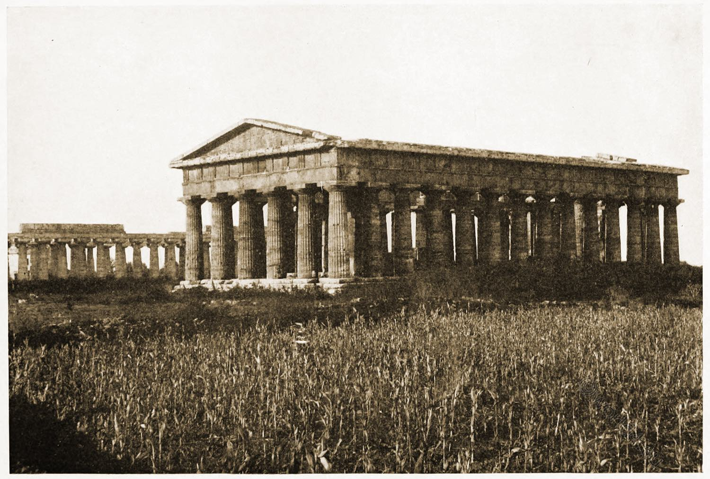 Temple, Neptune, Paestum,