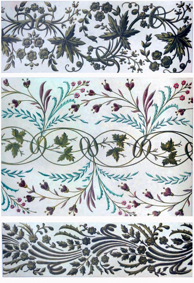 Turkish, embroidery, Specimens, Industrial, Arts,