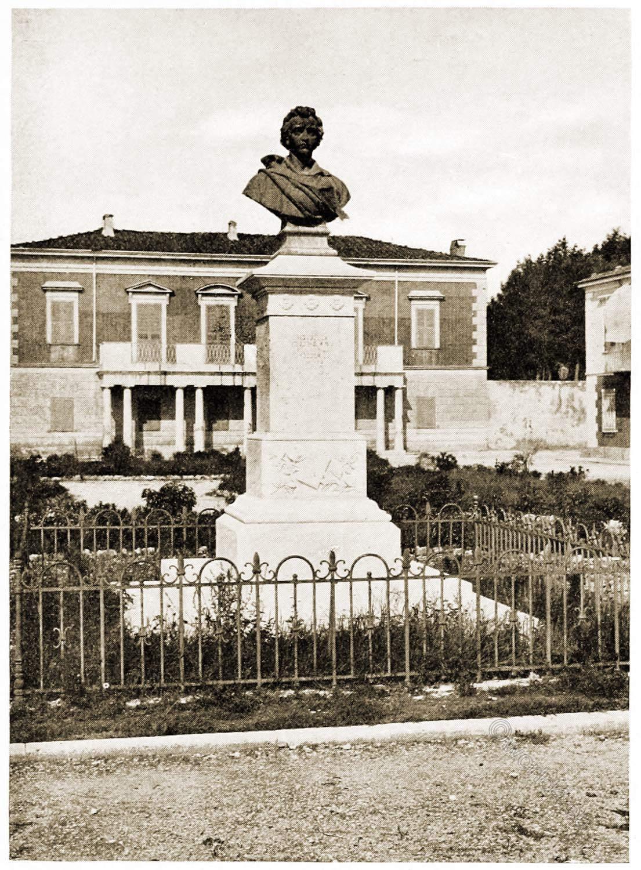 Viareggio, Monument, Percy Bysshe Shelley,