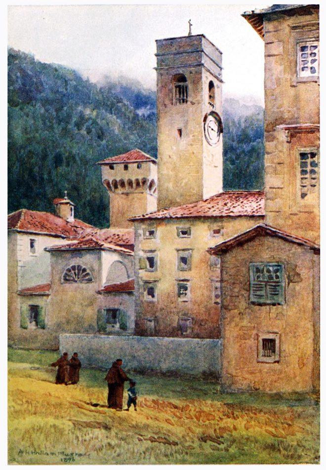 Italy, Vallombrosa, Abbey, Camaldolese, Order,