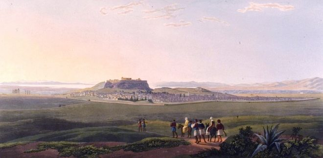 Athen, Greece, panoramic view, Ancient, Anchesmos,