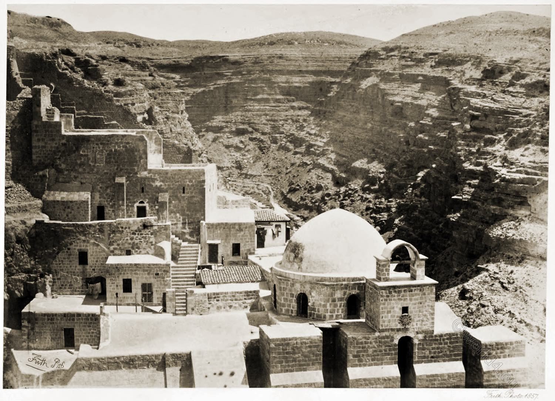 Mar-Saba, Saint Sabbas, Laura, Palestine, Convent, Monastry, Israel, Holy Land, Greek Orthodox