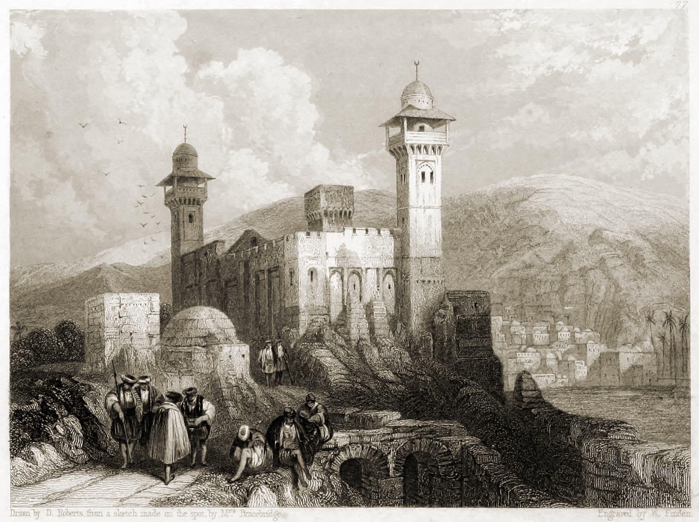 Hebron, Holy City, Palestine, ancient, Machpelah,