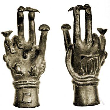 Roman, magic, hand, evil eye, ancient, charm, fascinatio, fascinum,