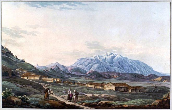 Mount, Parnassus, Greece,