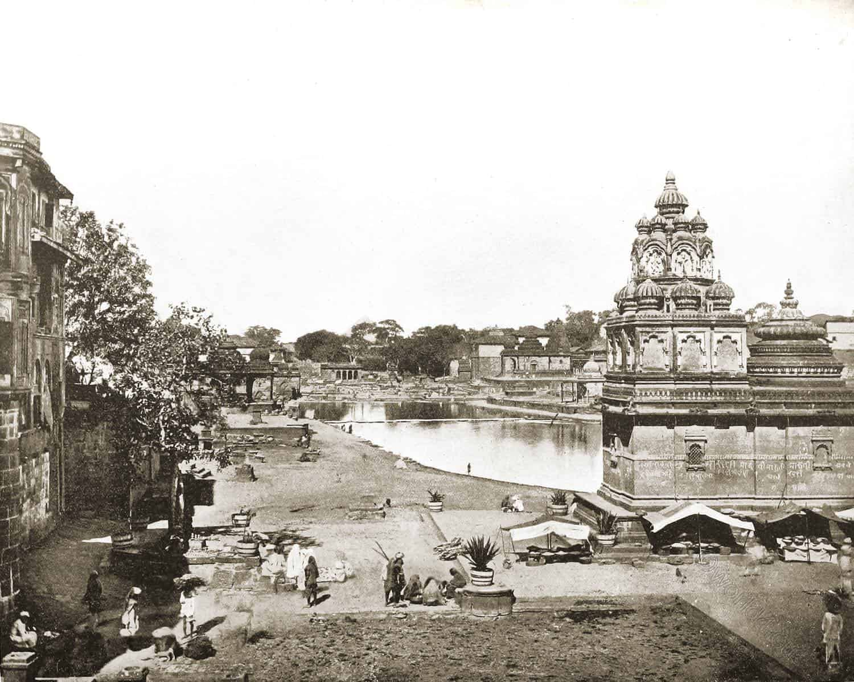 Nashik, India, Hindu, sacred, Temples, idols, Shrines, pilgrims, John Lawson Stoddard,