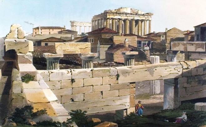 Parthenon, Propyleae, Greece, Athen, Acropolis, Ancient, Ruins,