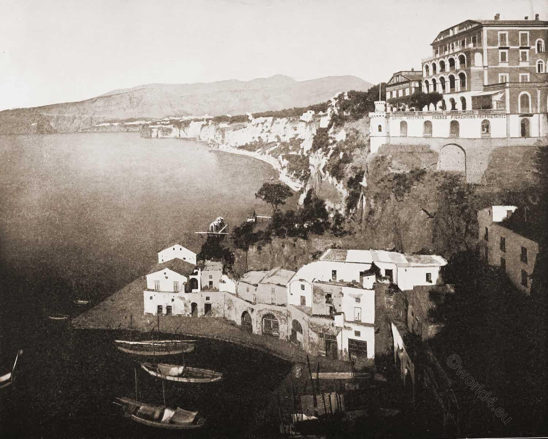 Sorrento, Italy, 1893, Travel, View, Historic, John Lawson Stoddard